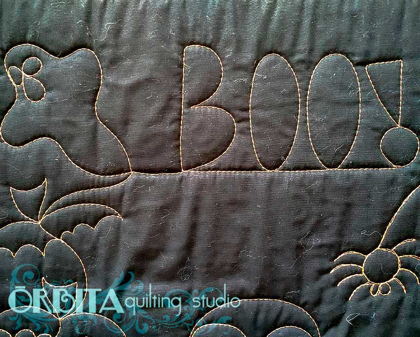 quilting para halloween design de fantasma