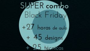 SUPER combo Black Friday - 10 cursos online de quilting