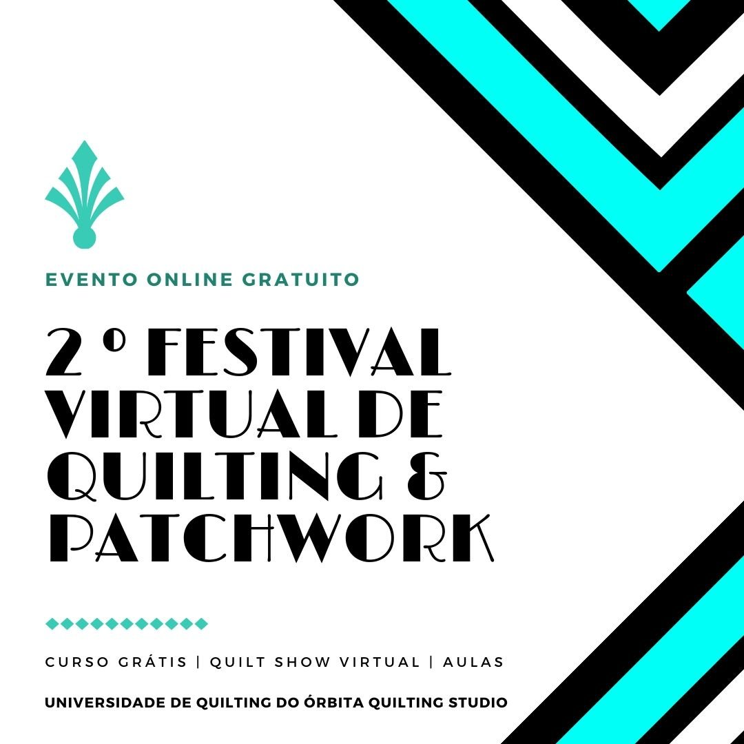 2º festival virtual de Quilting e Patchwork